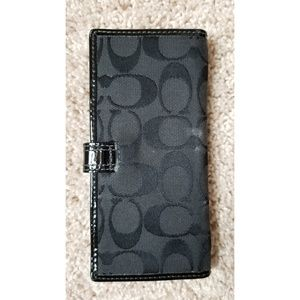 Coach Bags - Coach wallet black